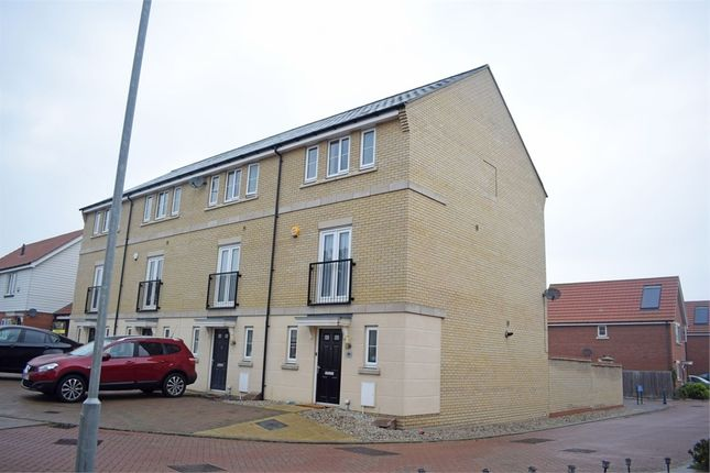 Thumbnail End terrace house for sale in School Avenue, Basildon, Essex