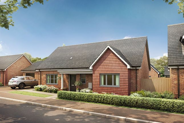 Thumbnail Detached bungalow for sale in Short Way, Hinckley