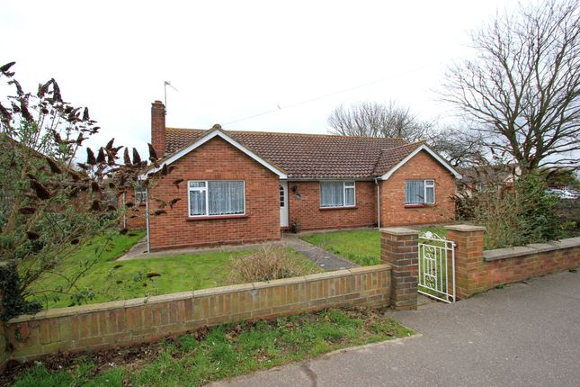 Thumbnail Detached bungalow for sale in Colchester Road, Lawford, Manningtree