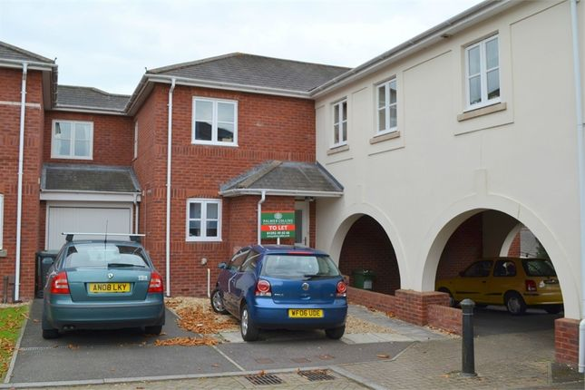 Thumbnail Terraced house to rent in Addington Court, Horseguards, Exeter