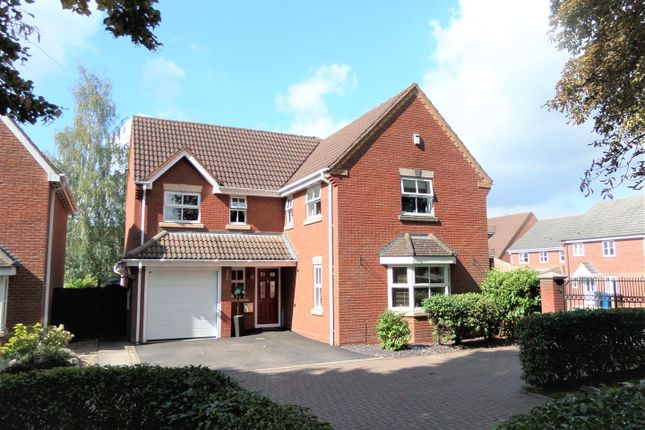 Thumbnail Detached house for sale in Sister Dora Avenue, St Matthews, Burntwood