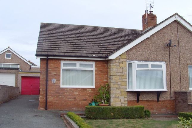 Thumbnail Bungalow to rent in 6 Fairfield Close, Penrhyn Bay