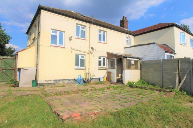 Thumbnail Semi-detached house to rent in Luton Road, Chalton, Luton