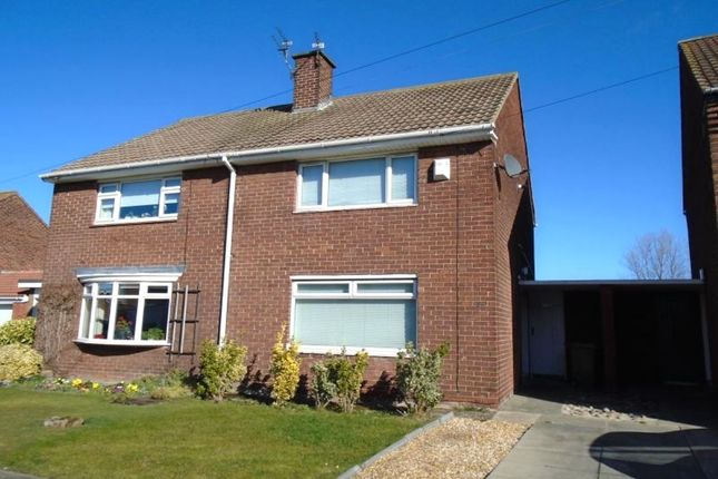Thumbnail Semi-detached house to rent in Hortondale Grove, Blyth