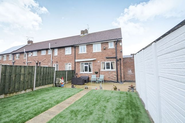 Thumbnail End terrace house for sale in Chapelfields Road, York