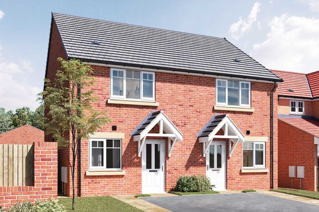 """Semi-detached house for sale in """"The Hardwick A"""" at Douglas Crescent, Auckland Park, Bishop Auckland"""