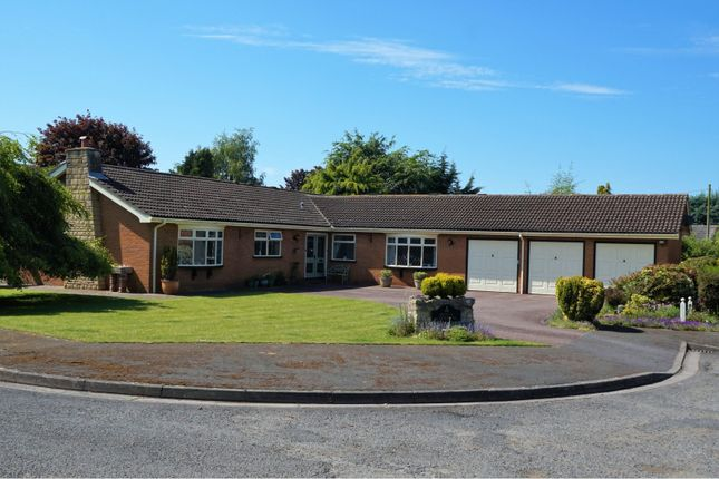 Thumbnail Detached bungalow for sale in 5 The Croft, Nettleham