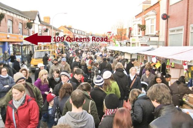 Knitting Queens Road Leicester : Queens road leicester le retail premises to let