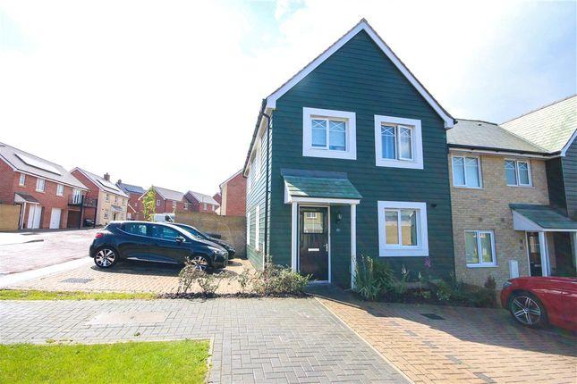 3 bed end terrace house for sale in Walker Close, Church Crookham, Fleet