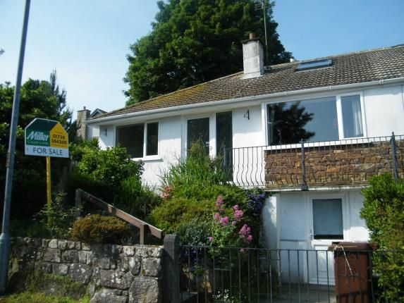 Thumbnail Bungalow for sale in Gulval, Penzance, Cornwall