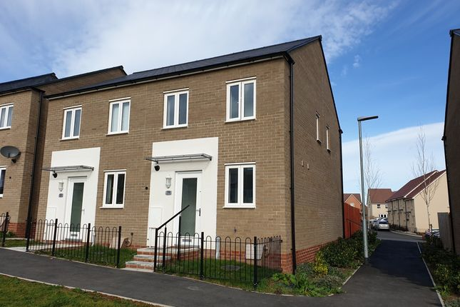Thumbnail Semi-detached house to rent in Shackleton Road, Yeovil, Somerset
