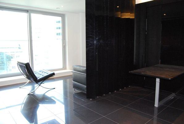 Living Room of East Tower, Pan Peninsula Square, Canary Wharf E14