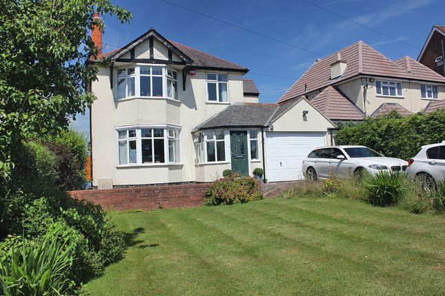 Thumbnail Detached house for sale in Uppingham Road, Thurnby, Leicester