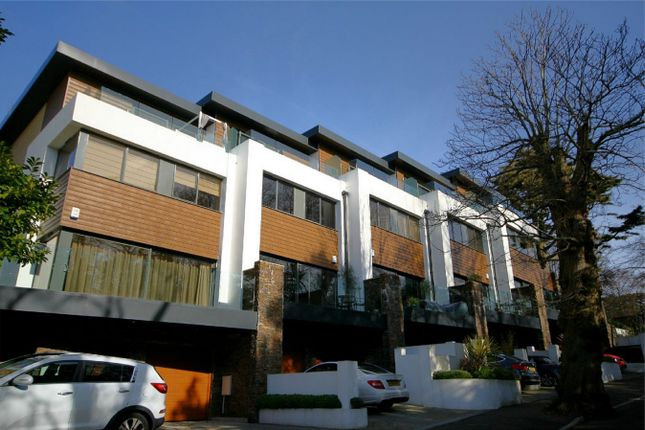Thumbnail Town house for sale in Windsor Road, Lower Parkstone, Poole, Dorset