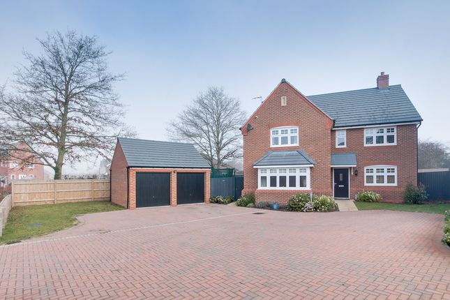 Thumbnail Detached house for sale in Perkins Drive, Inkberrow, Worcester