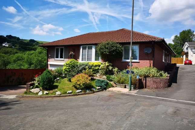 Thumbnail Detached bungalow for sale in Heol Clyd, Caerphilly