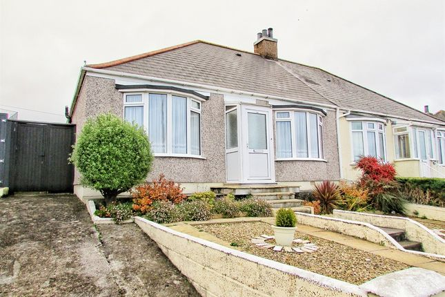 Thumbnail Semi-detached bungalow for sale in Pemros Road, St. Budeaux, Plymouth