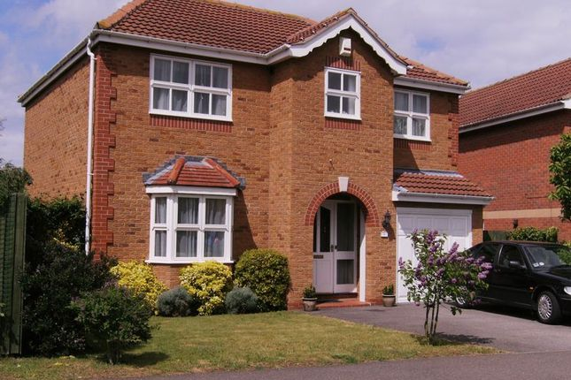 Thumbnail Detached house to rent in Rosedale Drive, Grantham