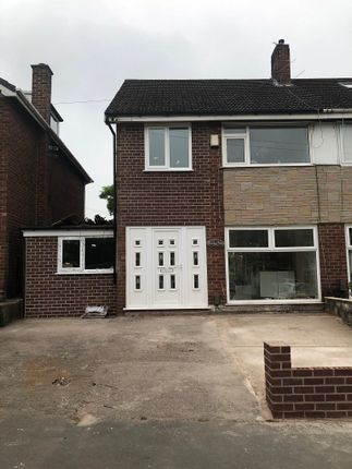 Thumbnail Semi-detached house to rent in Cardinal Street, Manchester