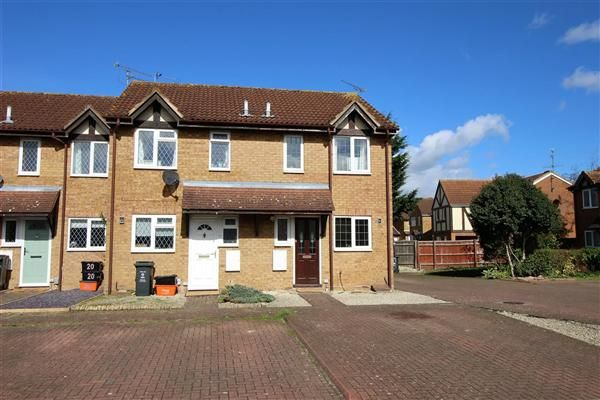 Thumbnail End terrace house to rent in Bowman Close, Stratton, Swindon