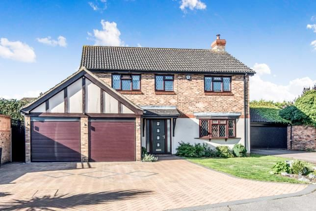 Thumbnail Detached house for sale in Cryselco Close, Kempston, Bedford, Bedfordshire