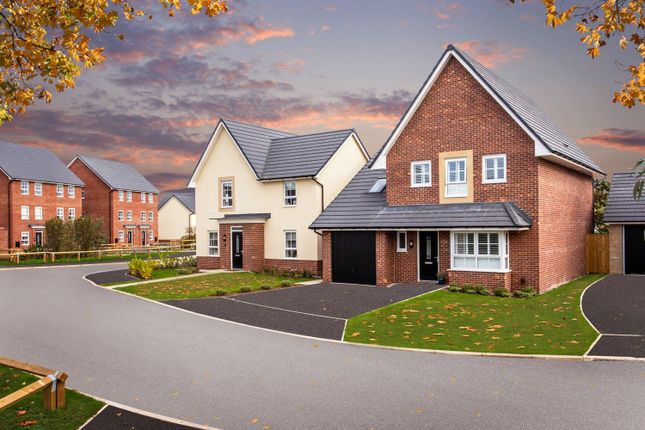 "Thumbnail Detached house for sale in ""Harborough"" at Kepple Lane, Garstang, Preston"