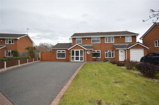 Thumbnail Semi-detached house for sale in Stevenson Drive, Spital, Merseyside