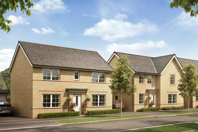 """Thumbnail Detached house for sale in """"Thornton"""" at Llantrisant Road, Capel Llanilltern, Cardiff"""