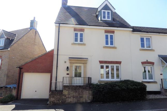 Thumbnail 4 bed semi-detached house to rent in Elms Meadow, Winkleigh