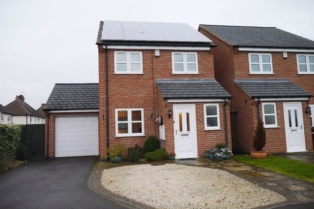 3 bed detached house for sale in Marriott Close, Asfordby, Melton Mowbray