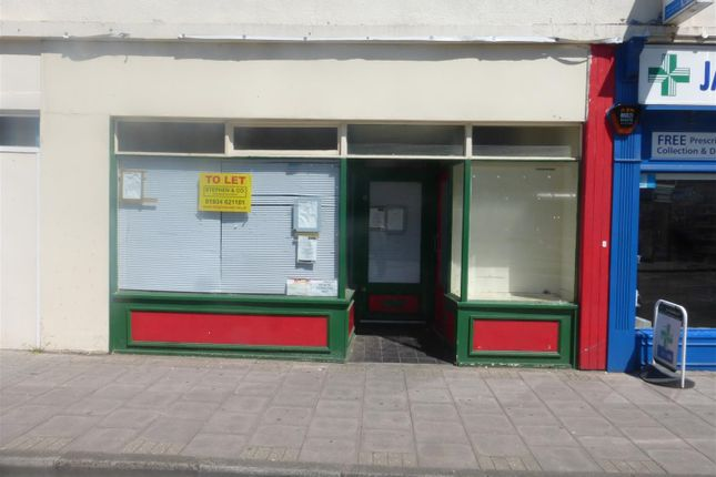 Retail premises to let in Waterloo Street, Weston-Super-Mare