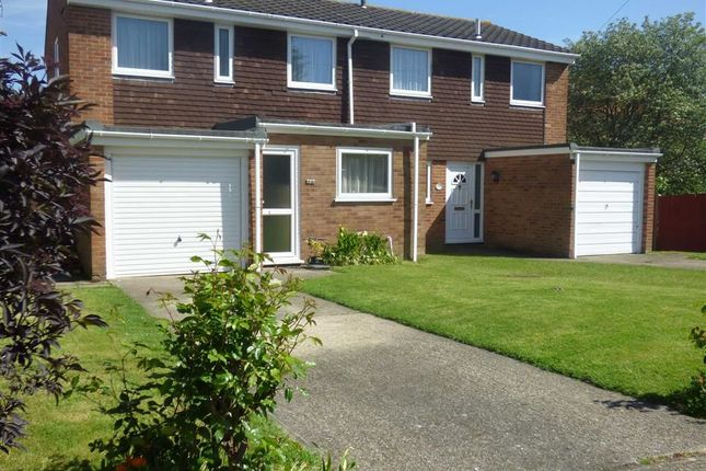 Thumbnail Semi-detached house for sale in Canon Close, Borstal, Rochester