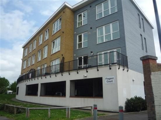 Thumbnail Flat for sale in Admirals Way, Gravesend