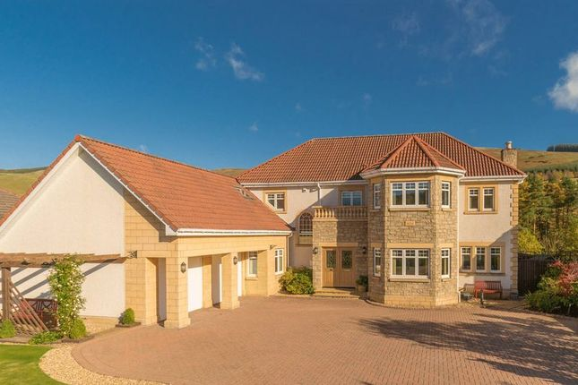 Thumbnail Detached house for sale in Glendale, 21 St. Bryde's Way, Cardrona, Peebles