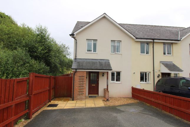 Thumbnail End terrace house for sale in Bryn Steffan, Lampeter