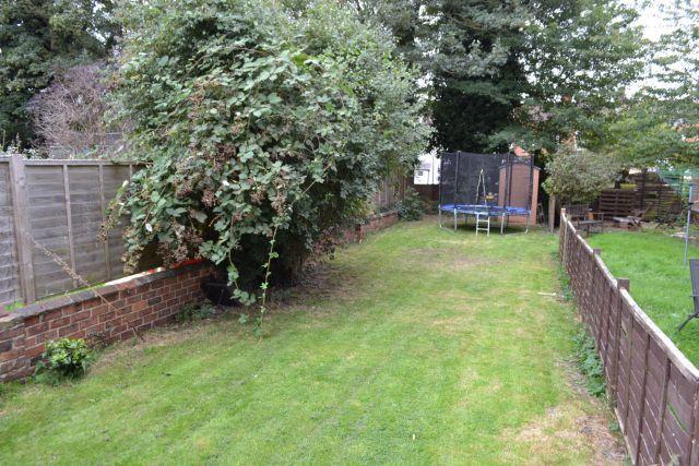 Rear Garden of Hood Street, The Mounts, Northampton NN1