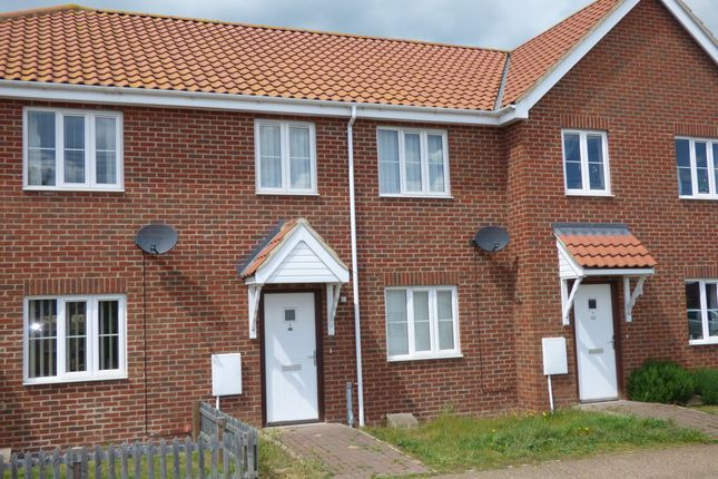 Thumbnail Terraced house for sale in Riverside Maltings, Rose Lane, Diss