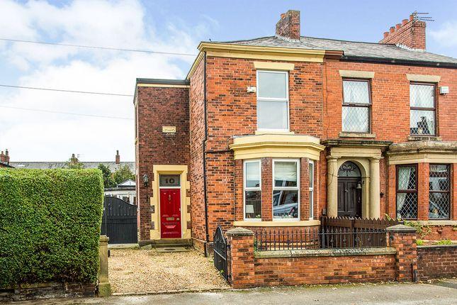 Thumbnail Semi-detached house for sale in Tulketh Avenue, Ashton-On-Ribble, Preston, Lancashire