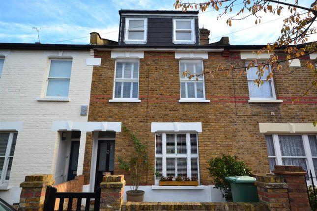 Thumbnail Terraced house to rent in Haliburton Road, Twickenham