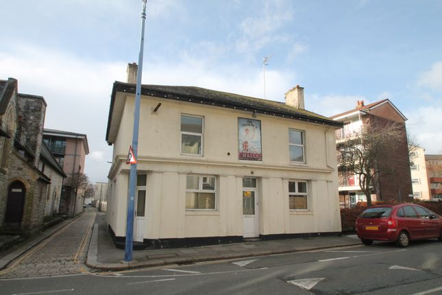 Thumbnail Detached house for sale in Octagon Street, Plymouth