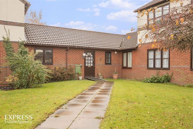 Thumbnail Terraced bungalow for sale in Chestnut Walk, Markfield, Leicestershire