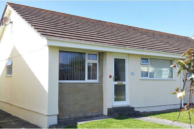 Thumbnail Semi-detached bungalow for sale in Pentire Green, Newquay