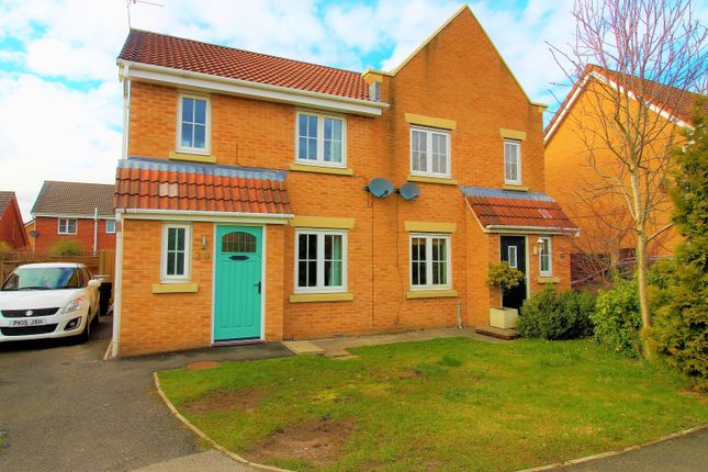 Thumbnail Semi-detached house for sale in Wessex Drive, Ince, Wigan