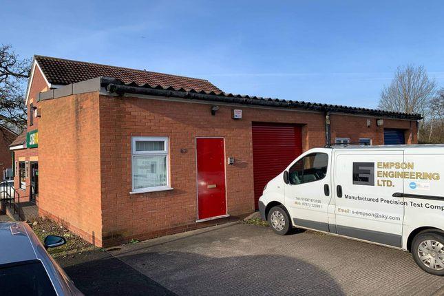 Warehouse to let in Sherwood Road, Bromsgrove
