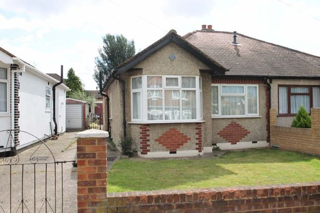 Thumbnail Semi-detached bungalow to rent in Sandown Way, Northolt, Middlesex