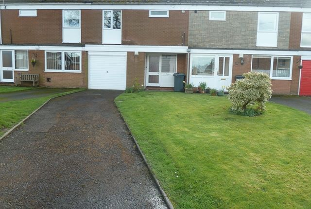 Thumbnail Terraced house to rent in Lutwyche Close, Church Stretton