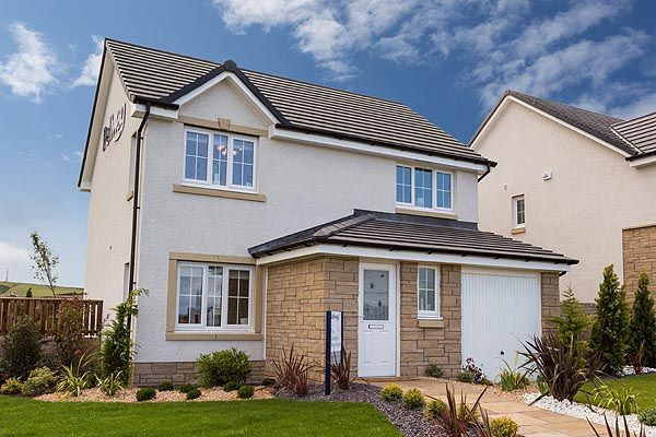 Thumbnail Detached house for sale in The Rosedale Off Kilmarnock Road, Troon
