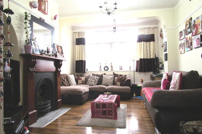 Thumbnail Terraced house to rent in Eccleston Crescent, Chadwell Heath, Romford