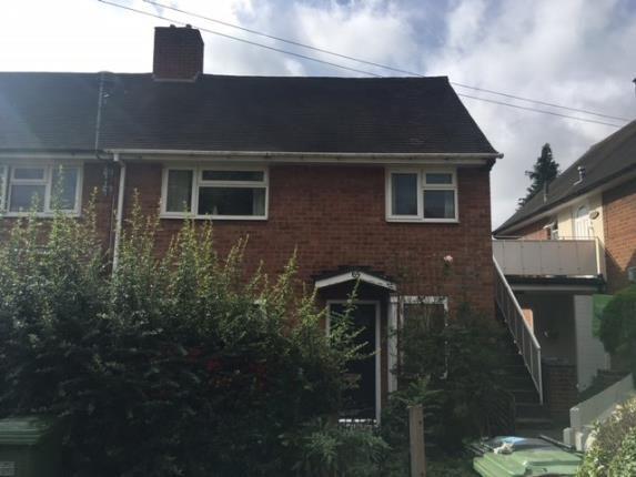 Thumbnail End terrace house for sale in Silver Birch Road, Kingshurst, Birmingham