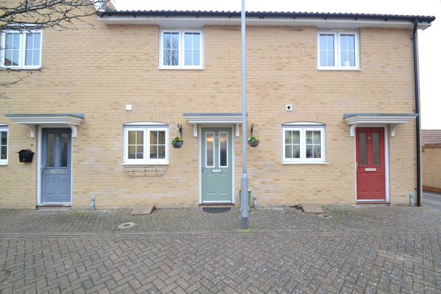 Thumbnail Terraced house for sale in Melso Close, Great Cornard, Sudbury